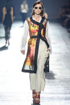 Crazy Floats.  Dries Van Noten Spring 2014 Ready-to-Wear Collection Slideshow on Style.com