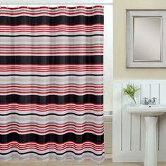 Deco 13 Piece Printed Shower Curtain Set