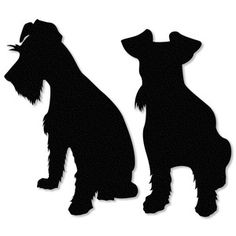 Silhouette Design Store: schnauzer puppy uncropped ears - Tap the pin for the most adorable pawtastic fur baby apparel! You'll love the dog clothes and cat clothes! <3