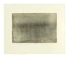 '14.03.2007 12:40 -4 #4' by Hideaki Yamanobe (monotype, 2007) #art #print