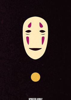 Minimalist Movie Poster // Movie Friday: 10 'Spirited Away' Alternative Movie Posters #ghibli #miyazaki