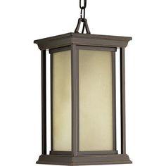 Progress Lighting Endcott 1 Light Outdoor Hanging Lantern