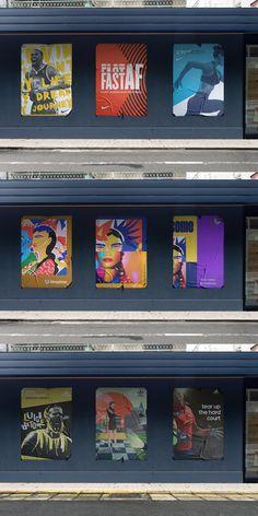 Small Changes, Mockup, Branding, Graphics, Urban, Lights, Street, Poster, Brand Management