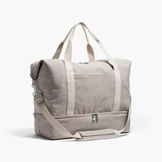 The Catalina Deluxe – Washed Canvas – Dove Grey – Large The Catalina Deluxe Large – Large Canvas Weekender – Designed by Lo & Sons Packing Shoes, Canvas Weekender Bag, The Lone Ranger, Travel Bags For Women, Living At Home, Travel Backpack, Travel Luggage, Drop, Leather Backpack