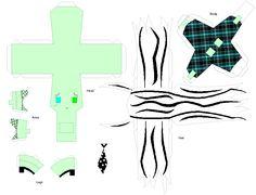 Paper Crafts: Frankie Stein by KPenDragon.deviantart.com on @deviantART