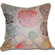 seashell throw pillows