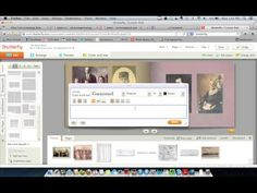 Creating an Ancestor Memory Book on Shutterfly - Video Tutorial 3 ~ YouTube