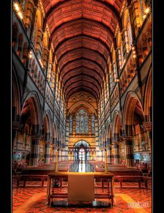 I was so lost and it was 42 outside! I found this gorgeous church and cried In Here for almost 2 hours Paul's Cathedral in Melbourne - Gothic Revivalism in the colonies - English architect William Butterfield St Peters Cathedral, Cathedral Church, Visit Melbourne, Melbourne Australia, Australia Trip, Melbourne Victoria, Victoria Australia, Places To Travel, Places To Visit