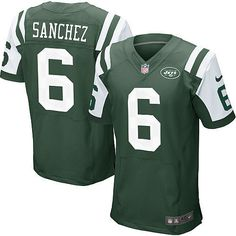 1d7e83d0a8648 NFL New York Jets Mark Sanchez American Football Shirt Jersey