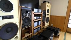 Dream sound! Currently setup of KRS 4346 & JBL 4311 special speakers at ...