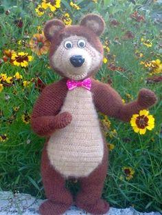Владимир Сутеев. Яблоко – ВЯЗАНАЯ СКАЗКА Amigurumi Tutorial, Crochet Patterns Amigurumi, Amigurumi Toys, Learn To Crochet, Crochet Baby, Free Pattern, Dinosaur Stuffed Animal, Teddy Bear, Knitting