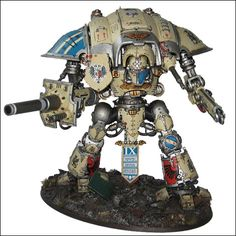 40k - Imperial Knight by George Kilding