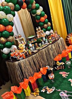 Trendy Ideas for baby shower ideas for boys lion king birthday parties Lion Birthday Party, Lion Party, Lion King Party, Jungle Theme Birthday, Lion King Birthday, 2nd Birthday, Birthday Ideas, Lion King Theme, Deco Jungle