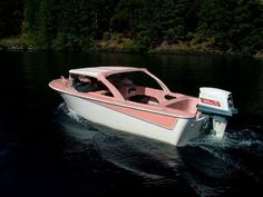 Vintage Boats, Diy Boat, Old Boats, Boat Stuff, Speed Boats, Motor Boats, Water Crafts, Cool Cars, Mid-century Modern