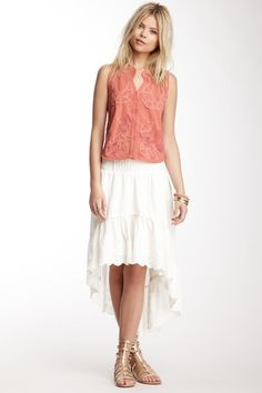 I actually own this great free people skirt. its the type you want to wear everyday, love it >> Lolita Skirt