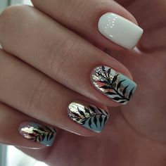 There must be your favorite nail ideas in 140 classic nail designs. - Page 10 of 139 - Inspiration Diary Elegant Nail Designs, Elegant Nails, Stylish Nails, Trendy Nails, Cute Nails, Nail Art Designs, My Nails, Nails Design, Nail Gloss