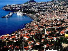 Madeira. Vista de Funchal