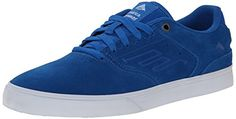 Emerica Men's The Reynolds Low Vulc Skateboard Shoe - http://shop.dailyskatetube.com/?post_type=product&p=2290 -  If you happen to just like the look of Andrew Reynolds' pro model shoe, but prefer something more low-profile, then the Emerica Men's Reynolds Low Vulc Skate Shoe is for you. It shares the similar basic DNA as the unique Reynolds but includes a vulcanized construction and a skinny tongue and -