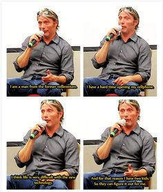 Mads + technology is one of my favorite things XD