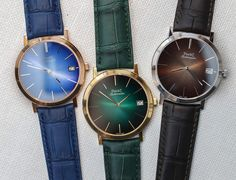 Piaget Altiplano 60th Anniversary Watches Hands-OnWe go Hands-On with the 2017 Piaget Altiplano 60th anniversary watches. Celebrating 60 years of the model with a size range from 34mm to 43mm and different style movements.