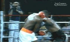 Mike Tyson's brutal uppercut