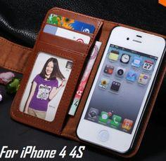 iPhone 4 / 5 / SE Brilliant Color PU Leather Case