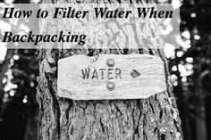 How to filter water when backpacking? There are many ways to choose from to make sure that you water is safe - chemical treatment, filtering, or not at all. Which is the best way to stay safe?