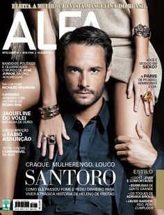 Rodrigo Santoro - Alfa março 2012