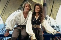 Cutthroat Island - Behind the scenes photo of Geena Davis & Matthew Modine. The image measures 1200 * 793 pixels and was added on 1 January Matthew Modine, Geena Davis, Pirate Woman, Pirate Life, Bruce Willis, Relic Hunter, Pirate Movies, Strong Female Characters, Image Film