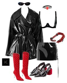 """""""Y'all should know me well enough"""" by kimberlythestylist ❤ liked on Polyvore featuring Alaïa, Loveday London, Anthony Vaccarello, Gucci and Miu Miu"""