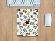 """Was ein Kabelsalat... """"All the music"""" Tabletfolie für das iPad #iPad #Tabletfolie #EasyCover #Kassette #Bandsalat"""