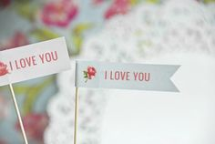 Free Valentines Day printables from Today's Creative Blog