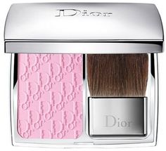 Dior 'Rosy Glow - Petal' Awakening Blush - A universally flattering, finely milled blush adjusts to your skin's chemistry to create the look of naturally flushed, rosy cheeks. Each Rosy Glow Blush comes in a sleek silver case with an easy-to-use brush applicator and features an embossed Dior logo pattern. Petal's universal tone works on all skin tones. The ultra-fine powder texture and irresistible rose fragrance offer a moment of pure indulgence with each application.      By Dior.