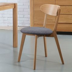 Pre-Order and save on the Henrik Solid Oak Dining Chair - Fabric Seat - Icon By Design. Timeless furniture you can afford to love. Retro Dining Chairs, Blue Dining Room Chairs, Fabric Dining Chairs, Chair Fabric, Beach Chairs, Orange Accent Chair, Walnut Chair, Floor Protectors For Chairs, Scandinavian Dining Chairs