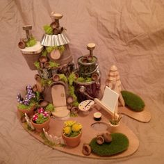 Hey, I found this really awesome Etsy listing at https://www.etsy.com/listing/222918190/ooak-fairy-house-artist-loft-fairy-house