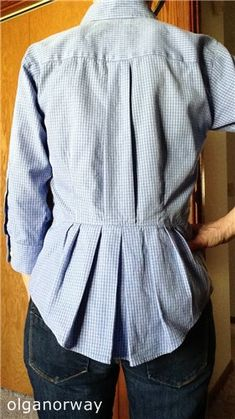 men's shirt makeover - wish there was a tutuorial           LiveInternet - Российский Сервис Онлайн-Дневников