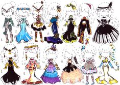-CLOSED- Fantasy clothes by Guppie-Adopts on deviantART