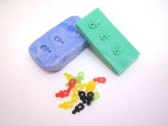 Polymer Clay Miniature - Small Gummy Pacifiers - YouTube
