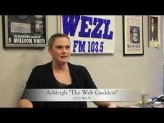North Charleston Coliseum Memories with Ashleigh the Web Goddess from WEZL103.5  #NCCMemories  www.NorthCharlestonColiseumPAC.com