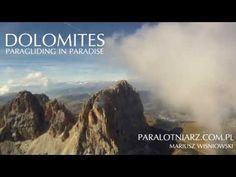 Dolomites - Paragliding in Paradise - YouTube