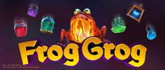 Want to experience a spooky science lab? Join Vegas Paradise and play Frog Grog #onlineslots with £5 sign up bonus