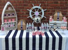 Preppy Nautical Collection - SweetPeachPaperie.com. More rustic and with accents of hunter green and maybe some gnarly branches