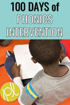 These lessons are ready to go - just open the slides! Phonemic awareness, phonics, and sight words in all 100 lessons. Use them with intervention groups OR in a literacy center. #phonics #lessonplans #phonemicawareness