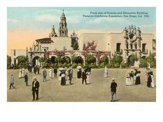 Panama-California Exposition - San Diego - 1915-1916