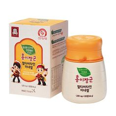 Cheong Kwan Jang] Korean Red Ginseng Multi Vitamin&Mineral For 3~13yr Old Kids, in [Health & Beauty, Dietary Supplements, Nutrition, Herbs & Botanicals | eBay