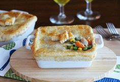 Cooking For Two - Homestyle Chicken Pot Pie