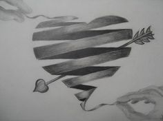 I love this drawing of a heart I am going to try to draw it