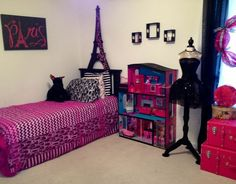 10 x 14 teenage girl room ideas | high room. Well my 7 year old would say different. She had a room ...