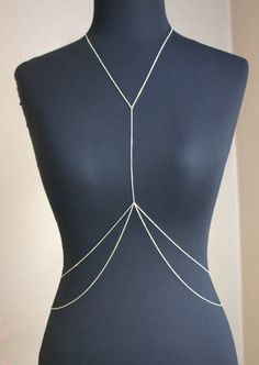 Gold Draped Body Chain
