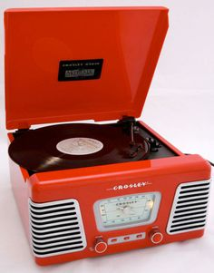 Radio Vintage, Vintage Records, Retro Record Player, Record Players, Lp Player, Audio, Old Technology, Sock Hop, Phonograph